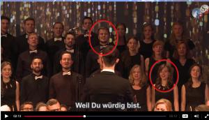 """Doch Katharina singt nicht nur im Auftrag von Saseks OCG. Sie schauspielert auch. Damit ist jetzt nicht ihr Auftreten in den Fake-News-Sendungen von KlaTV gemeint, da auch, aber Kathi W spielte auch die Hauptrolle in """"Männer stiehlt man nicht"""", einer Spielfilm-Flopperei von OCG und Ivo Sasek.tharina W.. und Matthäus W. von der OCG"""